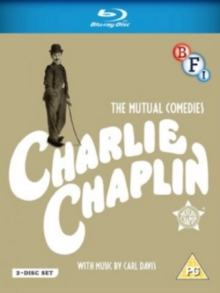 Charlie Chaplin: The Mutual Comedies, Blu-ray