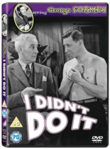 I Didn't Do It, DVD
