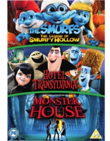 Hotel Transylvania/Monster House/The Smurfs: The Legend of..., DVD