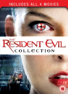 Resident Evil: 1-4 Collection, DVD