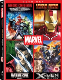 Marvel Anime Collection, DVD