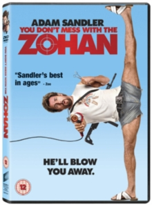 You Don't Mess With the Zohan, DVD