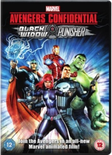 Avengers Confidential - Black Widow and Punisher, DVD