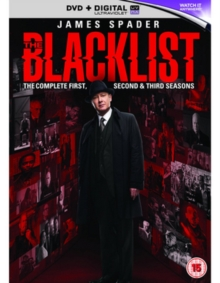The Blacklist: The Complete First, Second & Third Seasons, DVD