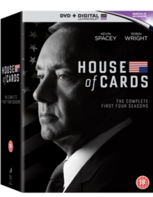 House of Cards: Seasons 1-4, DVD