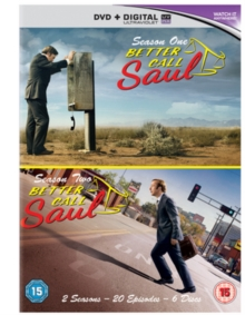Better Call Saul: Season 1 & 2, DVD