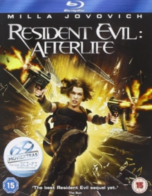 Resident Evil: Afterlife, Blu-ray