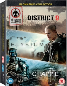Chappie/District 9/Elysium, DVD