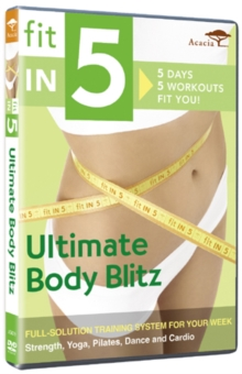 Fit in 5 - Ultimate Body Blitz, DVD