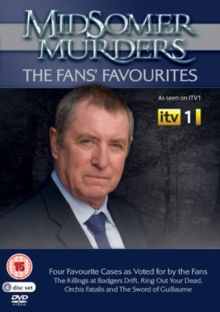 Midsomer Murders: The Fans' Favourites, DVD