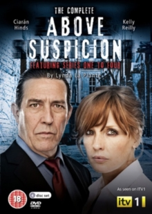 Above Suspicion: Complete Series 1-4, DVD