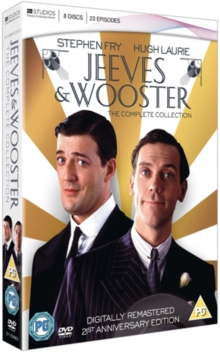 Jeeves and Wooster: The Complete Series 1-4, DVD