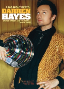Darren Hayes: A Big Night in With Darren Hayes, DVD