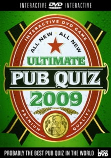 All New Ultimate Pub Quiz 2009, DVD  DVD