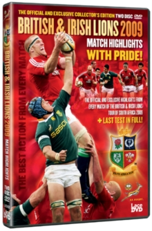 British and Irish Lions 2009: Match Highlights, DVD