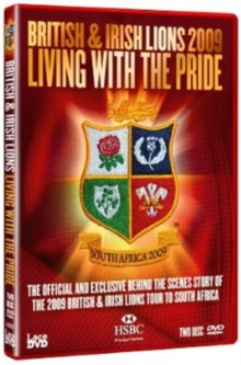 Lions 2009 - Living With the Pride, DVD