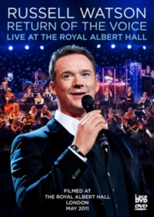 Russell Watson: Return of the Voice - Live at the Royal Albert..., DVD