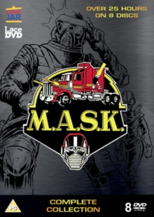 Mask: Complete Collection, DVD