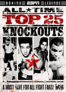 ESPN: All Time Top 25 Knockouts, DVD  DVD