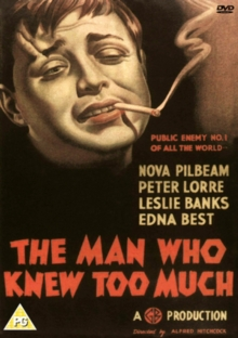 The Man Who Knew Too Much, DVD DVD