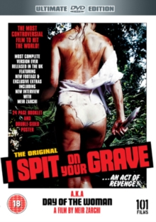 I Spit On Your Grave, DVD