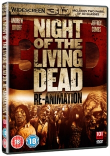 Night of the Living Dead 3D - Re-animation, DVD
