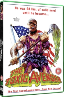 The Toxic Avenger, DVD