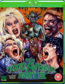 The Toxic Avenger: Part 3 - The Last Temptation of Toxie, Blu-ray