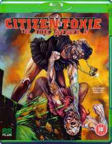 The Toxic Avenger: Part 4 - Citizen Toxie, Blu-ray