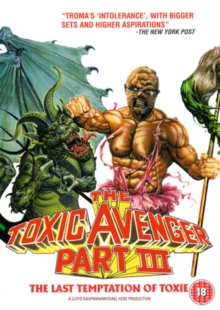 The Toxic Avenger: Part 3 - The Last Temptation of Toxie, DVD DVD