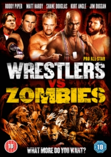 Pro All-star Wrestlers Vs Zombies, DVD