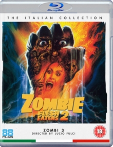 Zombie Flesh Eaters 2, Blu-ray