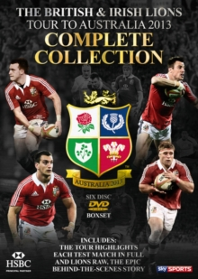 British and Irish Lions - Australia 2013: Complete Collection, DVD