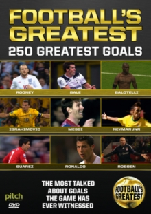 Football's Greatest - 250 Great Goals, DVD