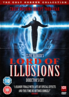 Lord of Illusions: Director's Cut, DVD