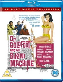 Dr. Goldfoot and the Bikini Machine, Blu-ray