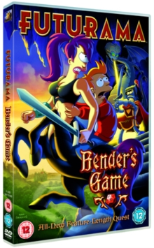 Futurama: Bender's Game, DVD