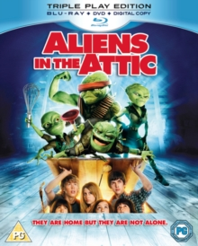 Aliens in the Attic, Blu-ray