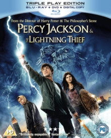 Percy Jackson and the Lightning Thief, Blu-ray
