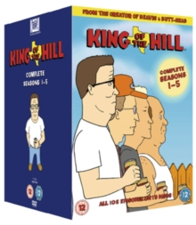 King of the Hill: Complete Seasons 1-5, DVD
