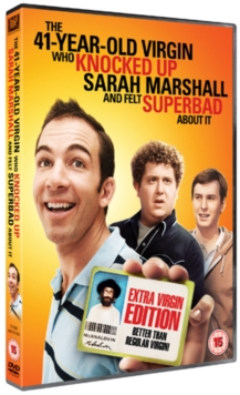 The 41 Year-old Virgin Who Knocked Up Sarah Marshall and Felt..., DVD