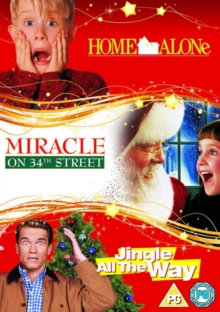 Home Alone/Miracle On 34th Street/Jingle All the Way, DVD