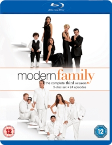 Modern Family: The Complete Third Season, Blu-ray BluRay
