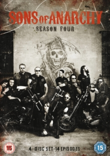 Sons of Anarchy: Complete Season 4, DVD
