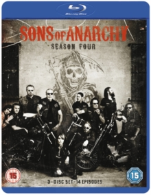 Sons of Anarchy: Complete Season 4, Blu-ray