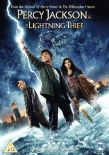 Percy Jackson and the Lightning Thief, DVD  DVD