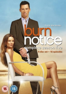 Burn Notice: Season 5, DVD