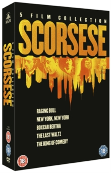 Martin Scorsese Collection, DVD  DVD