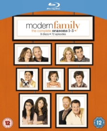Modern Family: The Complete Seasons 1-3, Blu-ray