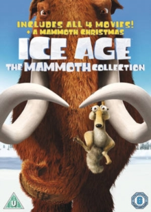 Ice Age 1-4 and Mammoth Christmas: The Mammoth Pack, DVD